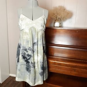 ☀️4/$18. 6/$20 Anthropologie  fei silk dress
